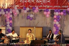 Mitali Dey performing in the Annual Program, 2016
