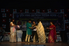 Amrina Tribujjal won 3rd prize in the Group Polyphony, 2017