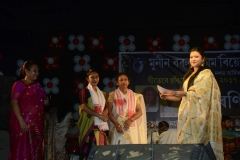 Anindita Bora won 1st prize in Polyphony, 2017