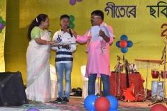 Abhinash Phukan won 1st prize in Art Competition of Group-C, 2018
