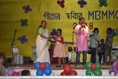Akankhya Priya Kashyap won 1st prize in Art Competition of Group-A, 2018