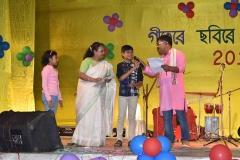 Anubhav-Baruah and Yachika Saikia won Consolation in Singing Competition of Junior Group, 2018