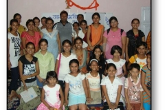 Amitabh Baruah Wester with our students, 2009