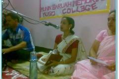 Dipalima Duwarah performing Assamese Modern Song, 2011