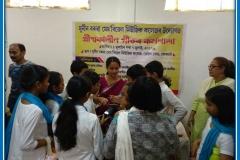 Dipalima Duwarah guiding our students, 2017