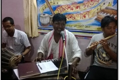 Dulal Manki performing Jhumor, 2014